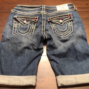 True Religion shorts. Inseam 10.